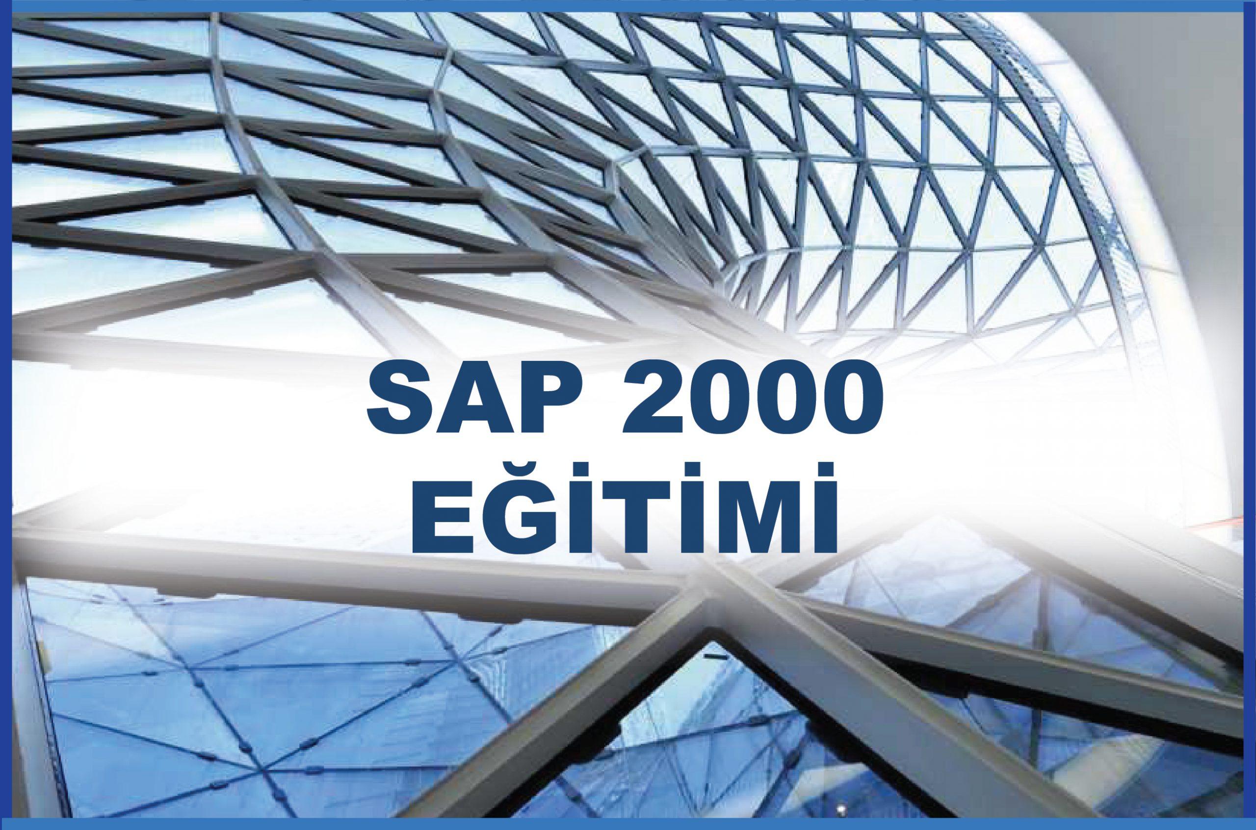 SAP 2000 Kursu Eğitimi