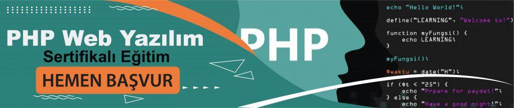 PHP Web Yazılım Kursu Eğitimi